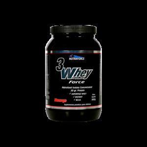 3 Whey Protein 900g Nutraforce