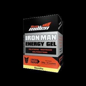 Iron Man Energy Gel 10 sachês New Millen