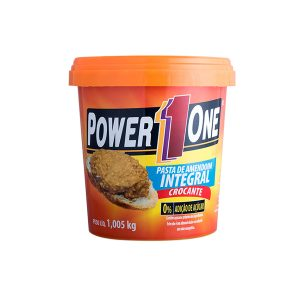Pasta de Amendoim Crocante 1Kg Power One