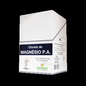 Cloreto de Magnésio P.A. caixa com 10 sachês Meissen