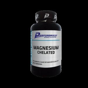 Magnésio Quelato 100 tabletes