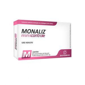 monaliz inibidor de apetite 30 comprimidos sanibras